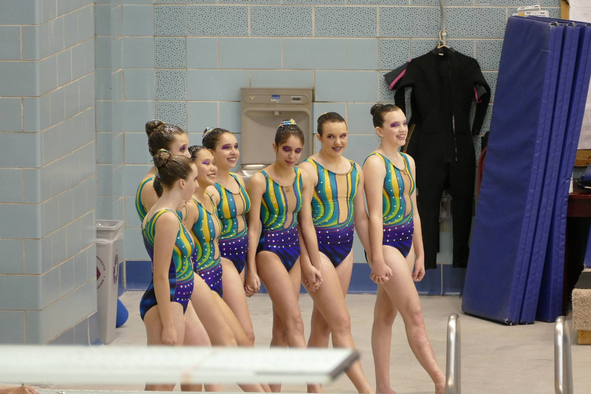 JAGS Girls Synchronized Swimming